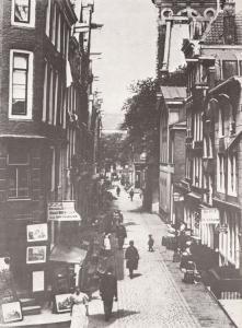 Zandstraat Kloveniersburgwal Gezien Amsterdam in 1896 Postcard