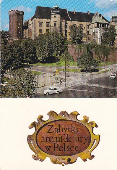 Poland Krakow Zabytki Architectury w Polsce