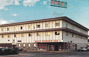 QUESNEL, B.C. , Canada , 50-60s; Billy Barker Inn , Cariboo Highway