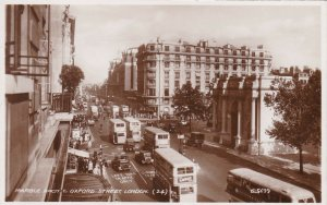 England London Marble Arch East Oxford Street Real Photo sk7375