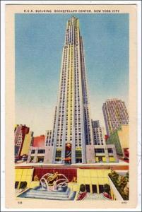 NY - New York City. RCA Building, Rockefeller Center