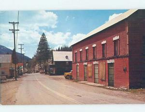 Pre-1980 STREET SCENE Sierra City - Near Grass Valley California CA W1210
