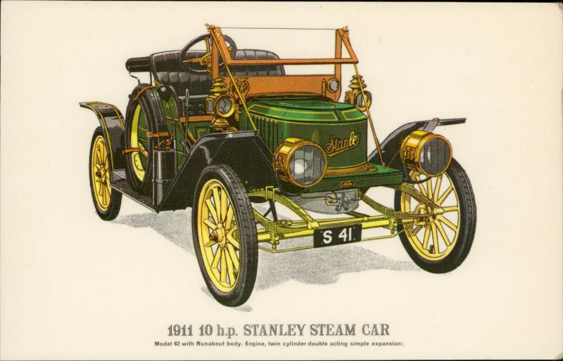 Stanley Steam Car antique classic car auto voiture