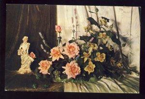 Providence, Rhode Island/RI Postcard, California Artificial Flower Co,Arrangemet