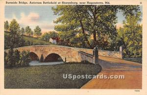 Burnside Bridge, Antietam Battlefield at Sharpsburg Hagerstown MD Unused