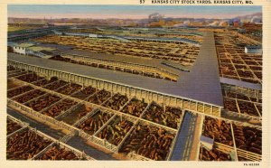MO - Kansas City. Stock Yards