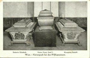 austria, WIEN VIENNA, Kaisergruft bei den PP-Kapuzinern (1910s) Postcard