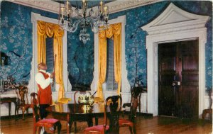 Postcard Supper Room, Governor's Palace, Williamsburg, VA Posted 1960
