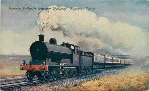 Artotype London North Western 1920s Railway UK Postcard Valentines 12644