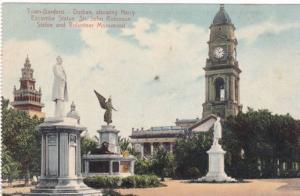 Town Gardens, Showing Harry Escombe Statue, Sir John Robinson Statue & Volunt...