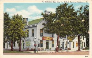 Bardstown Kentucky~Old Stone Inn~Talbott Tavern~Coffee Shop~1954 Postcard