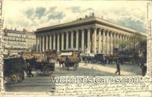 Paris, France, Carte, Postcard La Bourse  La Bourse