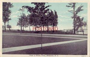 1953 VIEW OF WATER FRONT, BELHAVEN, N.C.