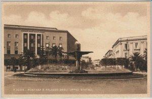 49759  CARTOLINA d'Epoca - FOGGIA citta' : FONTANA MONUMENTALE