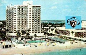 Florida Miami Beach Bal Harbour The Sea View 1963