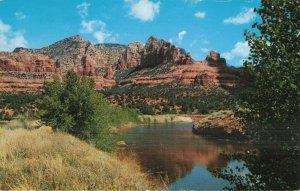 Circa 1955 Wilson Mountain Oak Creek Canyon, Arizona Postcard