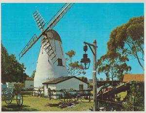 Swan River Old Mill Windmill Perth Western Australia Australian Postcard