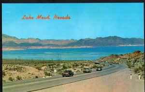 Nevada Lake Mead Viewed from Hoover Dam Highway to Boulder City cars1950s-1970s