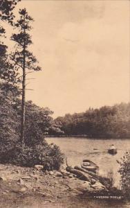 New York Ulster County South End Of Lake Minnewaska In the Shawangunk Mountai...