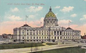 Minnesota Saint Paul 4240 Capitol West View 1911