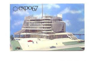 France Pavilion, Expo 67, Montreal, Quebec, Offical Post Card