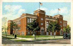 PA - Clearfield. Clearfield High School
