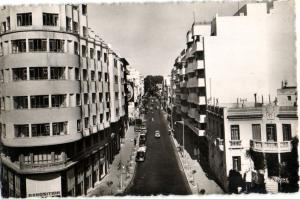 CPA Maroc Tanger Boulevard Pasteur (31742)