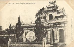 CPA Vietnam Indochine - ANNAM Hué - Pagode des Cantonnais (60463)