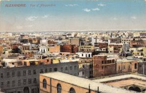 ALEXANDRIA EGYPT AFRICA TOTAL ANSICHT VUE POSTCARD c1910s