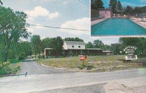 CUMBERLAND, Maryland, 1950-1960's; Maryland Motel, Swimming Pool