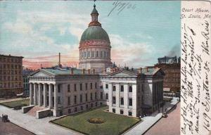 Missouri Saint Louis Court House 1906