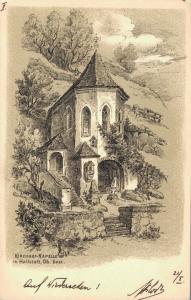 Austria Kirchhof Kapelle in Hallstatt Ob Oest 02.09