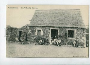 3144756 PORTUGAL Azores ACORES S.Michael Rustic house Vintage