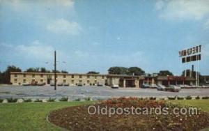 Treadway Inn, New Hartford, New York, USA Motel Hotel Postcard Postcards  Tre...