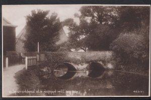 Dorset Postcard - Christchurch, Old Norman Mill Bridge   A6999