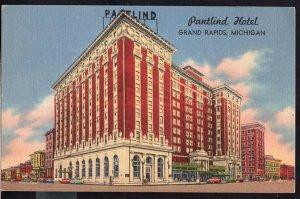 Michigan ~ The Pantlind Hotel GRAND RAPIDS LINEN