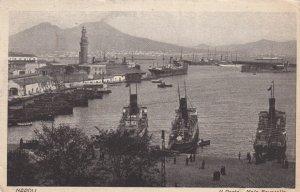 NAPOLI, Italy, PU-1928; II Porto, Molo Beverello