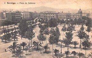 Plaza de Cataluna Barcelona Spain Unused