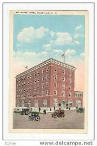 Hotel Belvedere, Main & Gilmer Streets, Reidsville, North Carolina, 10-20s