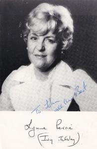 Lynn Perrie Ivy Tilsley Coronation Street Hand Signed Photo