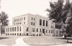 RP: Court House , ATLANTIC , Iowa , 30-40s