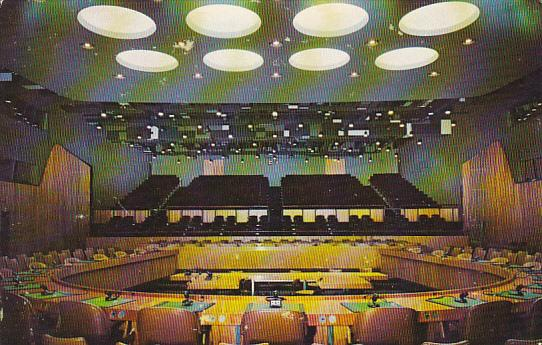 New York Economic and Social Council Chamber United Nations Headquarters