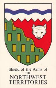 NORTHWEST TERRITORIES, Canada, 1940-1960's; Shield Of The Arms Of The Northwe...