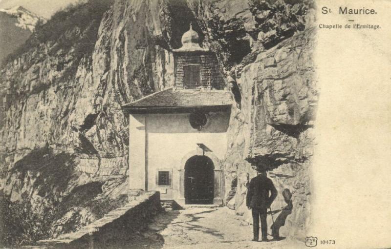 mauritius maurice, Chapelle de l'Ermitage (1910s)