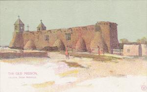 New Mexico Isleta The Old Mission
