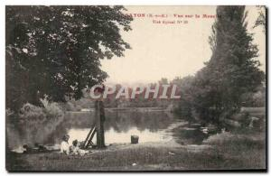 Bayon - Moselle View - Old Postcard