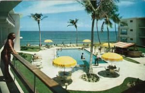 Swimming Pool, Barefoot Mailman Hotel, POMPANO BEACH, Florida, 40-60´