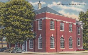 GADSDEN, Alabama , 30-40s ; Public Library