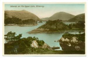RP; Islands on Upper Lake , Killarney , Ireland , 1920-40s