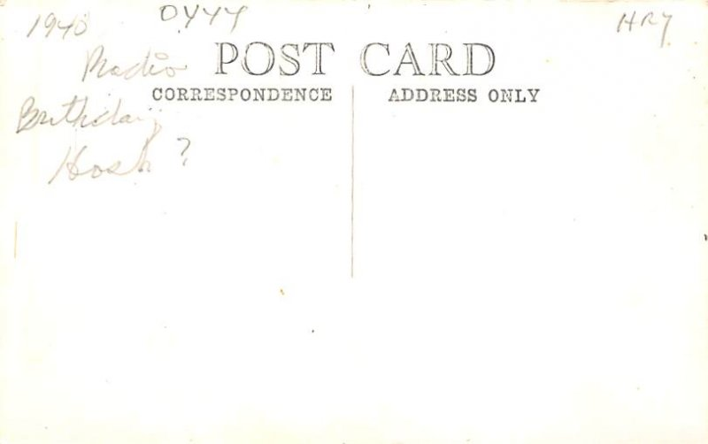 Occupation, Nurse Post Card Child with Books in Hospital Bed Unused